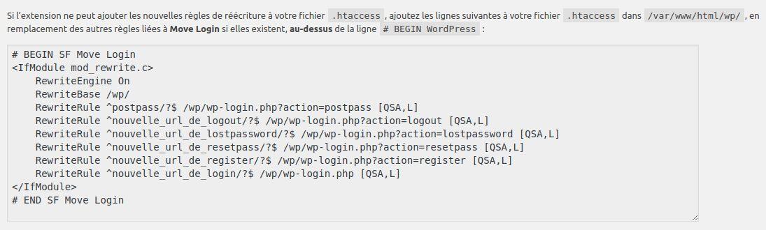 Wordpress sécurité login htaccess INFORMATUX