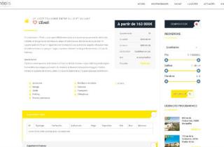 Gestion de programmes immobiliers + CRM (Gestion clients)