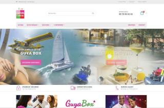 E-Boutique chèque cadeau box e-box en Guyane