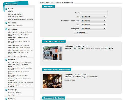 INFORMATUX Développements PHP JQUERY Mobile Cross-platform Sécurité Web Office de Tourisme