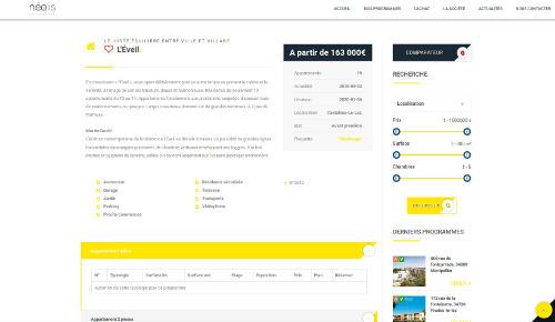 INFORMATUX Développements PHP JQUERY Mobile Cross-platform Sécurité Web Gestion de programmes immobiliers + CRM (Gestion clients)