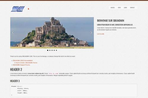 INFORMATUX Développements PHP JQUERY Mobile Cross-platform Sécurité Web Le CMS Made by INFORMATUX