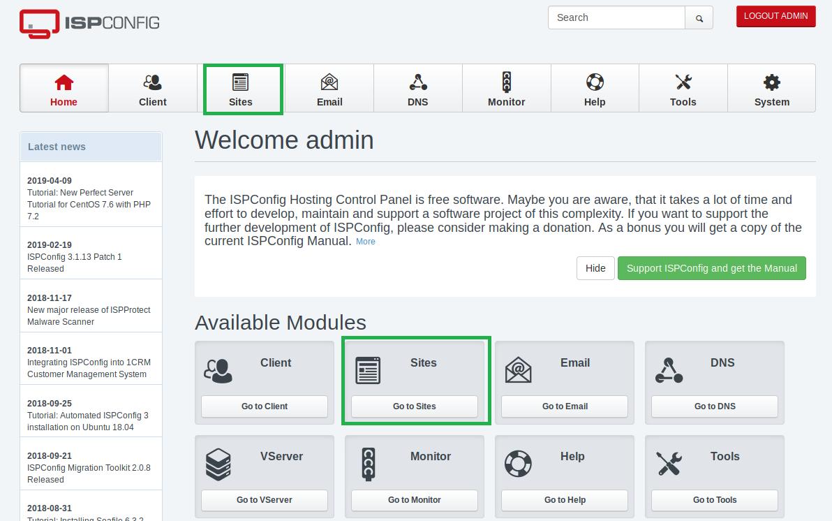 INFORMATUX - Installer un certificat SSL sur ISPCONFIG