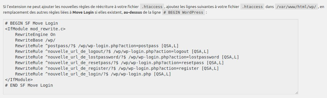 Wordpress sécurité login htaccess INFORMATUX